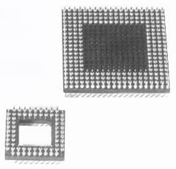 PGA adapter-board to board type Connectors Product Outline Dimensions