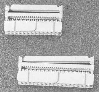 I.D.C socket connector Connectors Product Outline Dimensions