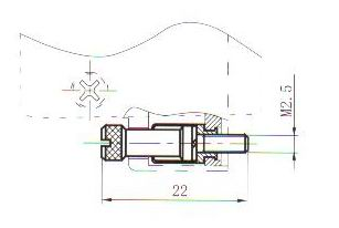J29A retaining member  Connectors Free Retaining Member Outline Dimensions