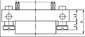 Type TL installation accessories and variations for contact tail end Connectors Product Outline Dimensions