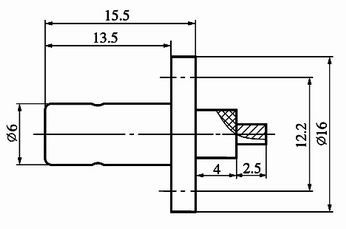 G series Connectors Product Outline Dimensions