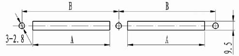 Solder contact connectors by float Connectors Product Outline Dimensions