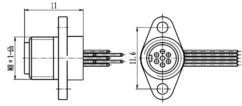Y34M connectors for PCB(just suitable for socket connectors)  Connectors Product Outline Dimensions