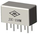 Electromagnetism JZC-158M Ultraminicaturi hermetically sealed electromagnetic relays Relays
