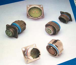 GJB599 series(MIL-C-38999) Ⅲ circular electrical connector Connectors Brief introduction