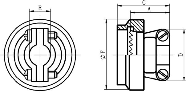GJB599 series (MIL-C-38999)Ⅲ circular electrical connector with compound material Connectors Terminal Accessories