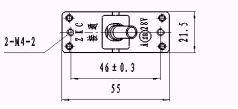 ZKC/Q Automatic Protect Switch series Relays Product Outline Dimensions