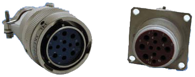 Y56 (XK) series  Connectors Outline Mounting Dimensions