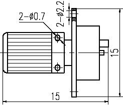 GM5,GM6 series Connectors Product Outline Dimensions