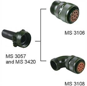 MS 20-15 Connectors Product Outline Dimensions