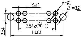 J41,J41B series Connectors Product Outline Dimensions
