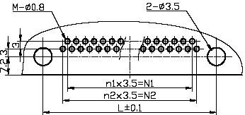 J52 series Connectors Product Outline Dimensions