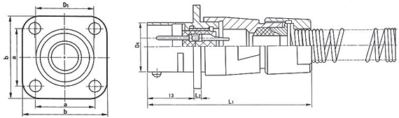 FQ142 series Connectors Product Outline Dimensions