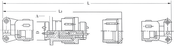 X30 series Connectors Product Outline Dimensions