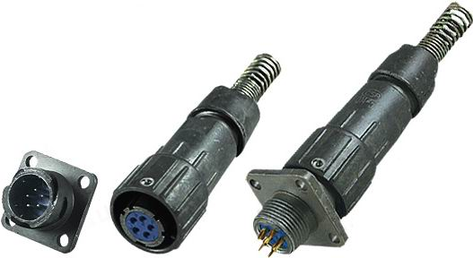 FQ14 grey  series Connectors Product solid picture
