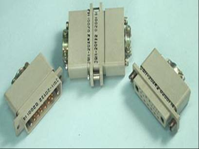 JQ11 Miniature Rectangular Electrical Connector series Connectors Product solid picture