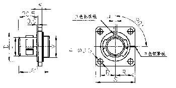 Y23 series electrical connector series  Connectors Product Outline Dimensions