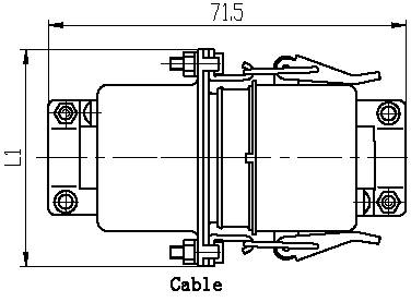Series J6,J6D,Rectangular, Electrical Connector series Connectors Product Outline Dimensions