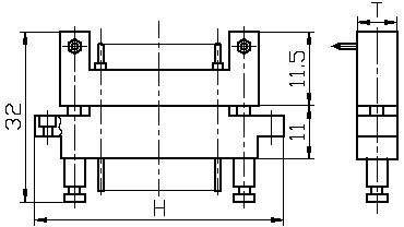 Series J41D,Rectangular, Electrical Connector series Connectors Product Outline Dimensions